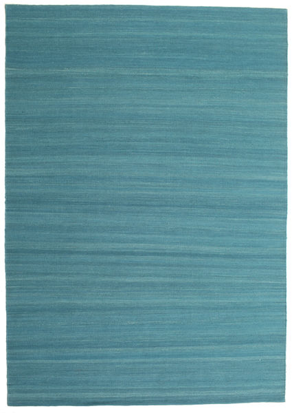 Kelim Loom - Petrol Blue-matto CVD14897