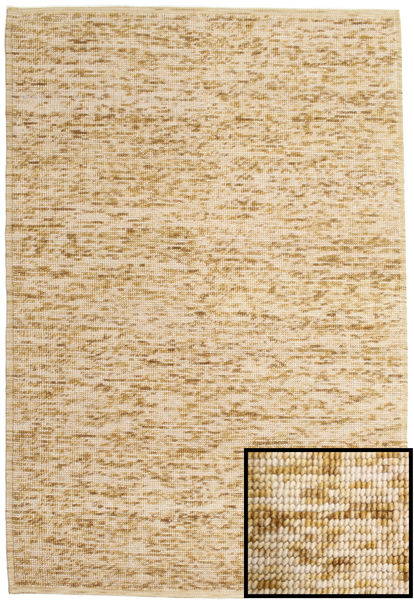 Luna - Beige Rug 200X300 Authentic  Modern Handwoven Light Brown/Dark Beige (Wool, India)