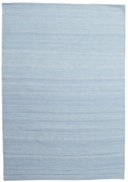 Kilim Loom - Light Blue Rug 160X230 Authentic  Modern Handwoven Light Blue (Wool, India)