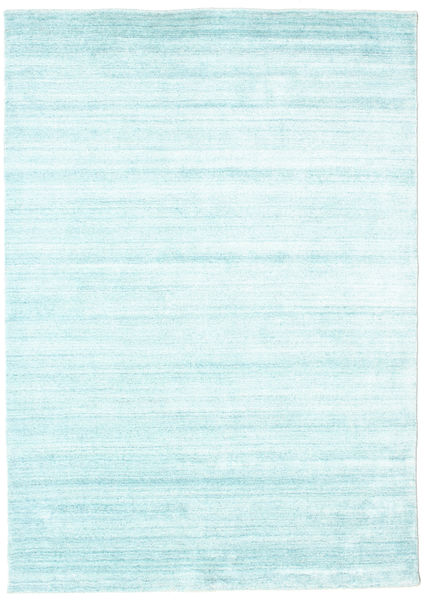 Bambu silke Loom - Ljusblå matta CVD15274