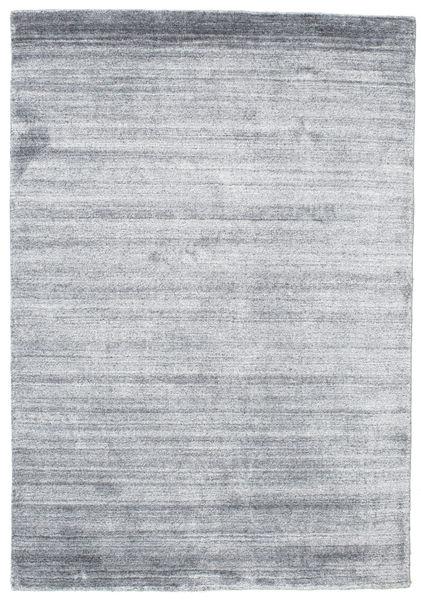 Alfombra Bambú de seda Loom - Denim Azul CVD15256