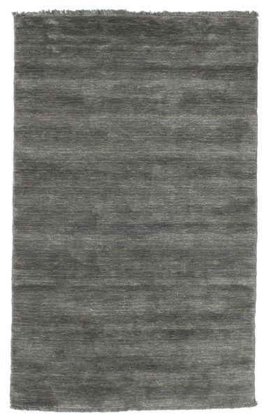 ハンドルーム fringes - 濃いグレー 絨毯 CVD14033