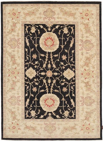 Ziegler Matto 170X240 Itämainen Käsinsolmittu Tummanbeige/Musta/Vaaleanruskea (Villa, Pakistan)