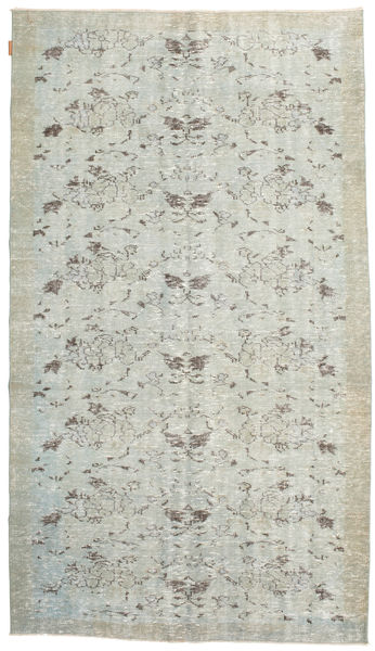 Colored Vintage Rug 154X273 Authentic  Modern Handknotted Light Grey/Beige (Wool, Turkey)