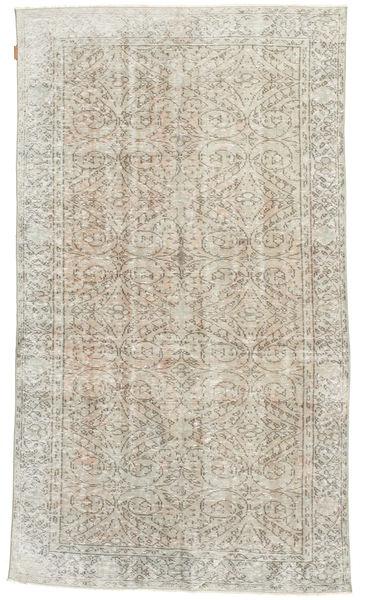 Colored Vintage rug XCGZM193