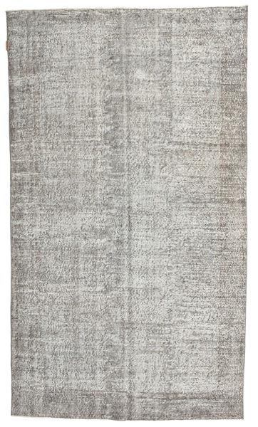 Colored Vintage Rug 160X275 Authentic  Modern Handknotted Light Grey/Dark Beige (Wool, Turkey)