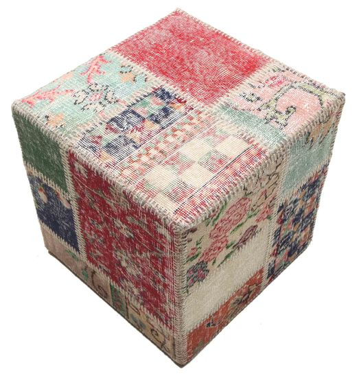 Patchwork stool ottoman teppe BHKW74