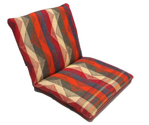 Kilim sitting cushion rug RZZZI56