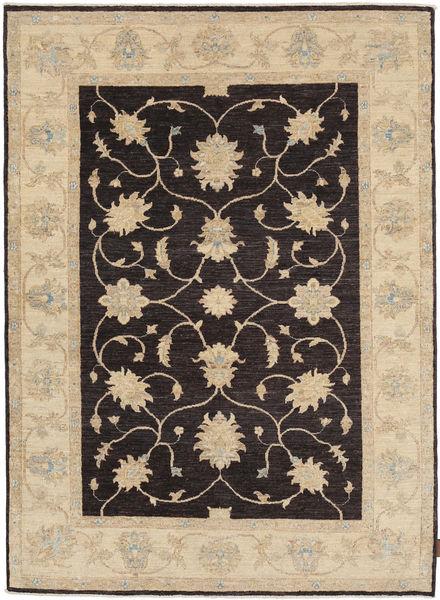 Ziegler Rug 144X200 Authentic  Oriental Handknotted Light Brown/Dark Brown (Wool, Pakistan)