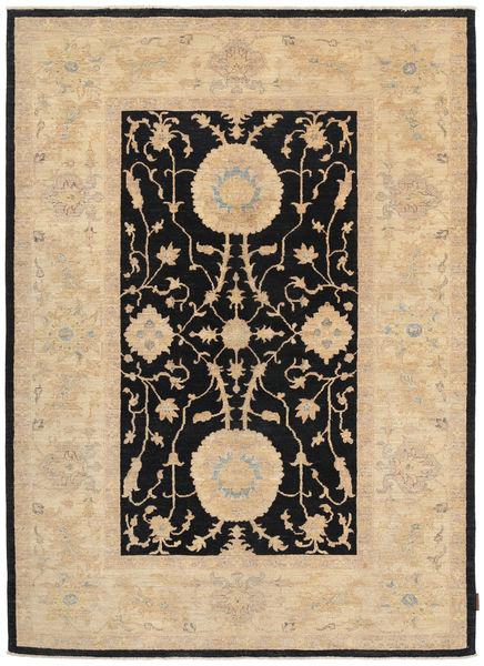 Ziegler 絨毯 168X235 オリエンタル 手織り 暗めのベージュ色の/薄茶色/黒 (ウール, パキスタン)