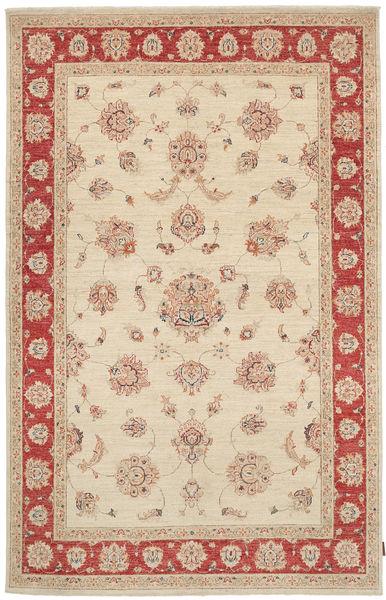 Ziegler Rug 170X265 Authentic  Oriental Handknotted Beige/Dark Red (Wool, Pakistan)