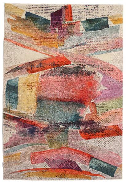Pablo Tapis 200X300 Moderne Marron Clair/Rose Clair ( Turquie)