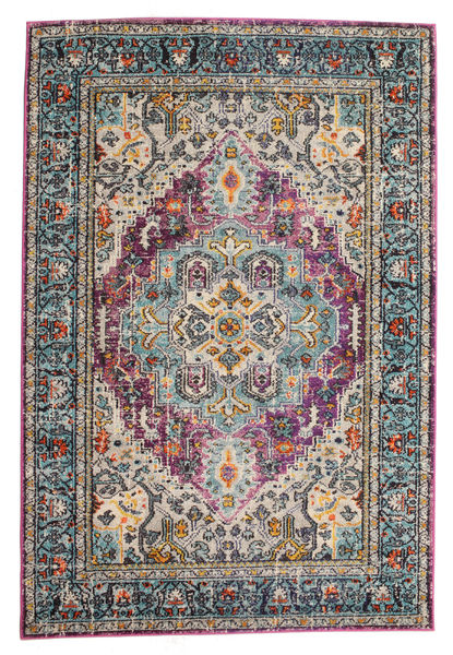 Maaike Rug 200X300 Modern Dark Blue/Light Grey ( Turkey)