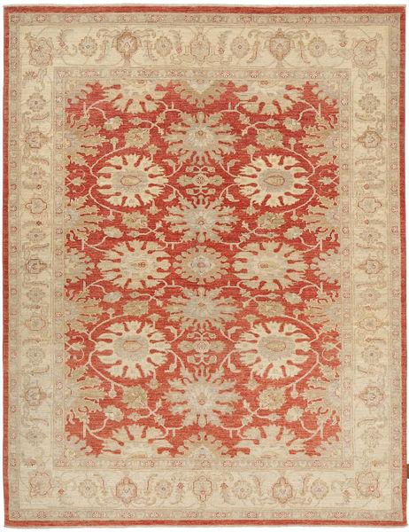 Ziegler Rug 172X227 Authentic  Oriental Handknotted Beige/Crimson Red/Dark Beige (Wool, Pakistan)