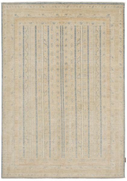 Ziegler Rug 170X240 Authentic  Oriental Handknotted Light Brown/Light Grey (Wool, Pakistan)