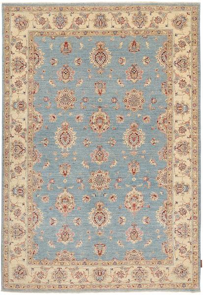 Ziegler Rug 167X245 Authentic  Oriental Handknotted Light Grey/Light Brown (Wool, Pakistan)