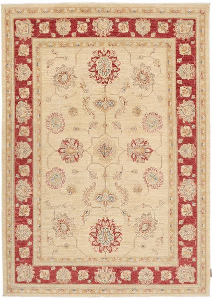 Ziegler Matto 170X236 Itämainen Käsinsolmittu Beige/Vaaleanruskea (Villa, Pakistan)