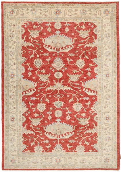 Ziegler Matto 174X243 Itämainen Käsinsolmittu Vaaleanruskea/Ruoste (Villa, Pakistan)