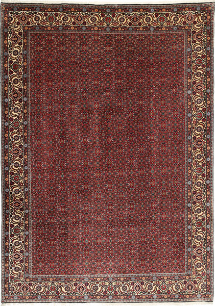 Bidjar Takab/Bukan Rug 208X300 Authentic  Oriental Handknotted Dark Red/Brown (Wool, Persia/Iran)