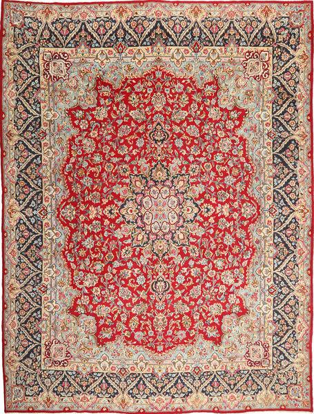 Kerman Alfombra 302X400 Oriental Hecha A Mano Marrón Claro/Óxido/Roja Grande (Lana, Persia/Irán)