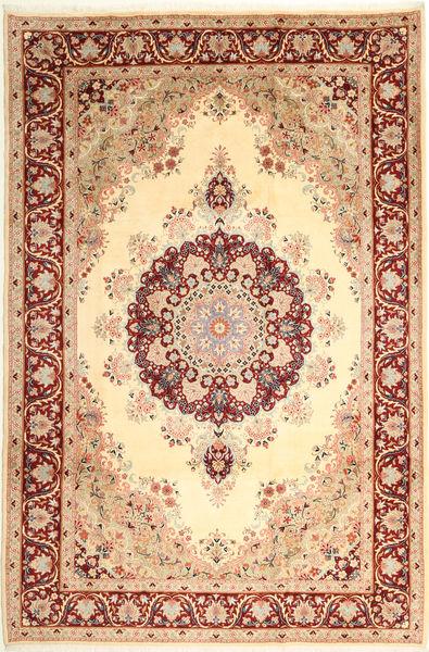 Jazd Dywan 200X300 Orientalny Tkany Ręcznie Beżowy/Jasnoróżowy (Wełna, Persja/Iran)