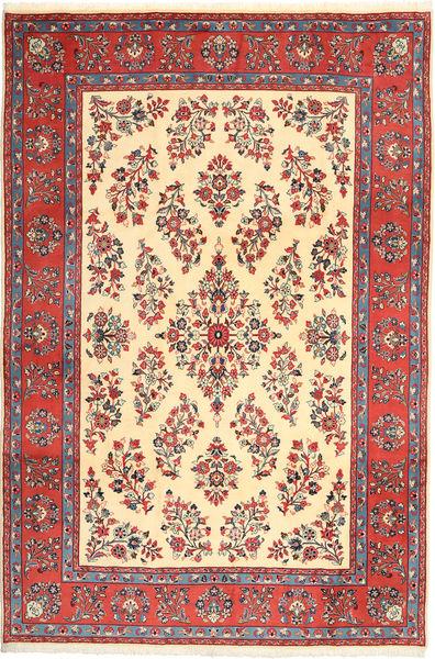 Jazd Dywan 200X295 Orientalny Tkany Ręcznie Ciemnoczerwony/Żółty (Wełna, Persja/Iran)