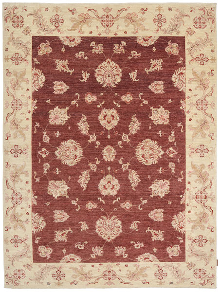 Ziegler Rug 202X271 Authentic  Oriental Handknotted Dark Red/Beige (Wool, Pakistan)