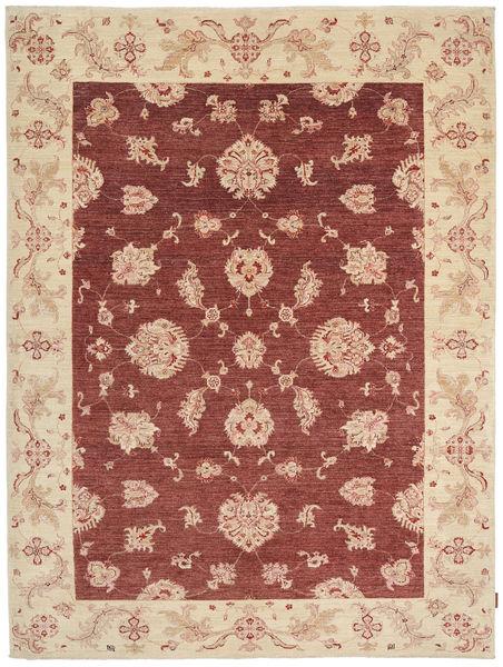 Ziegler Rug 202X271 Authentic  Oriental Handknotted Dark Red/Beige (Wool, Pakistan)