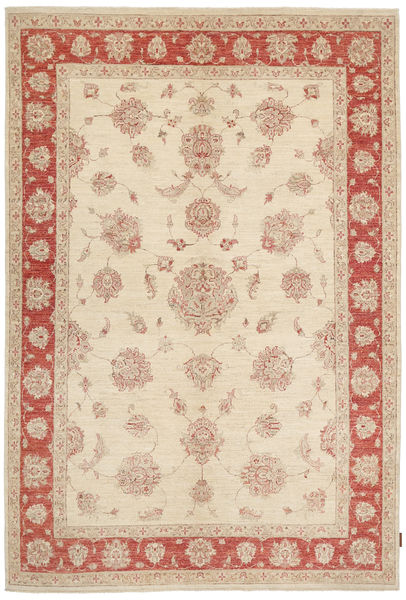 Ziegler Rug 174X261 Authentic  Oriental Handknotted Beige/Dark Red (Wool, Pakistan)