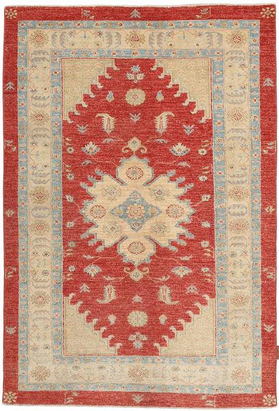 Ziegler Matto 128X188 Itämainen Käsinsolmittu Ruoste/Vaaleanruskea (Villa, Pakistan)
