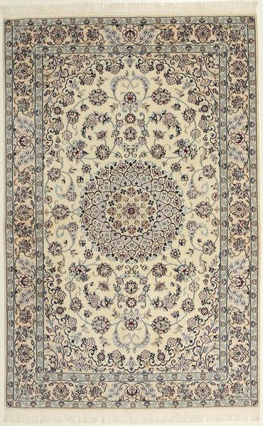 Nain 6La Matto 118X182 Itämainen Käsinsolmittu Vaaleanruskea/Beige (Villa/Silkki, Persia/Iran)