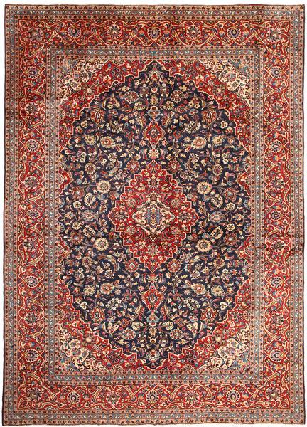 Keshan Rug 291X407 Authentic  Oriental Handknotted Dark Brown/Dark Red Large (Wool, Persia/Iran)