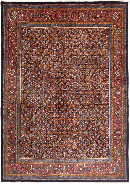 Mahal Matto 292X410 Itämainen Käsinsolmittu Tummanpunainen/Tummanruskea Isot (Villa, Persia/Iran)