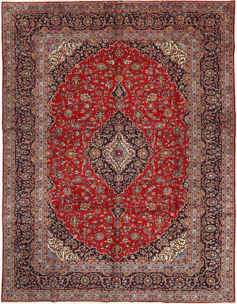 Keshan Matto 295X390 Itämainen Käsinsolmittu Ruskea/Tummanpunainen Isot (Villa, Persia/Iran)
