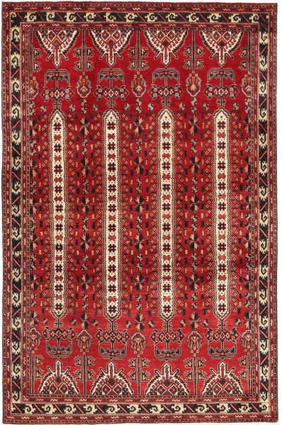 Bakhtiar Alfombra 188X292 Oriental Hecha A Mano Rojo Oscuro/Marrón Oscuro (Lana, Persia/Irán)