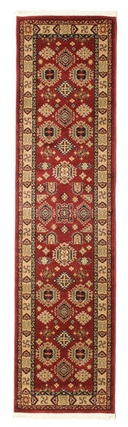 Shirvan Kazak Rug 80X300 Oriental Hallway Runner  Dark Red/Light Brown ( Turkey)