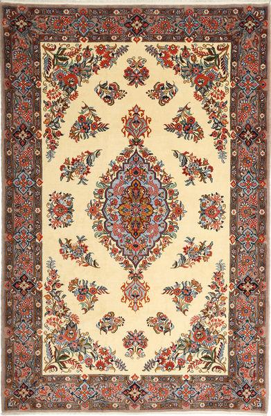 Sarough Matto 175X265 Itämainen Käsinsolmittu Tummanharmaa/Beige (Villa, Persia/Iran)