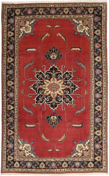 Ardebil Matta 195X317 Äkta Orientalisk Handknuten Mörkröd/Mörkbrun (Ull, Persien/Iran)