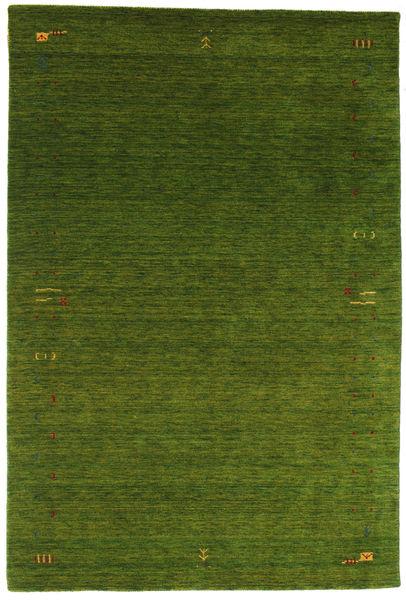 Gabbeh Loom Frame - Zöld Szőnyeg 190X290 Modern Sötétzöld (Gyapjú, India)