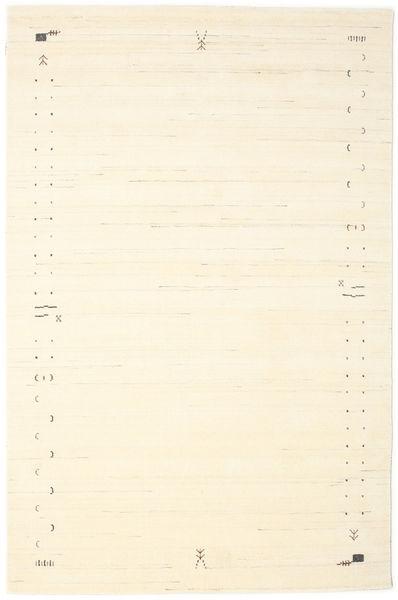 Gabbeh Loom Frame - Off White Teppe 190X290 Moderne Beige (Ull, India)