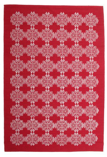 Zakai Szőnyeg 200X300 Modern Kézi Szövésű Piros/Világos Rózsaszín (Gyapjú, India)