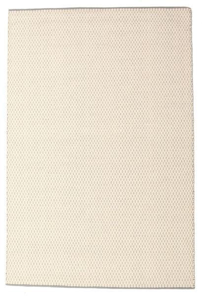Bobbie - White_Grey Matto 160X230 Moderni Käsinkudottu Beige/Vaaleanharmaa (Villa, Intia)