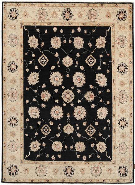 Ziegler Rug 165X225 Authentic  Oriental Handknotted Light Brown/Black (Wool, Pakistan)