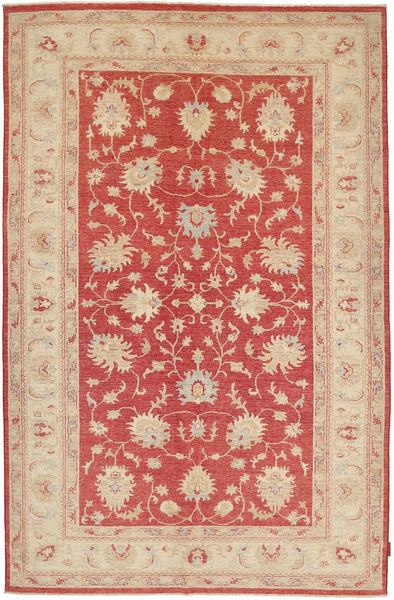 Ziegler Rug 172X262 Authentic  Oriental Handknotted Rust Red/Beige (Wool, Pakistan)