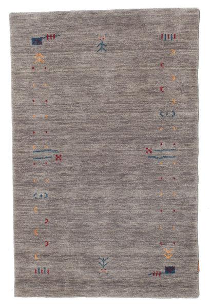 Gabbeh Loom Frame - Szary Dywan 100X160 Nowoczesny Ciemnoszary/Jasnoszary (Wełna, Indie)
