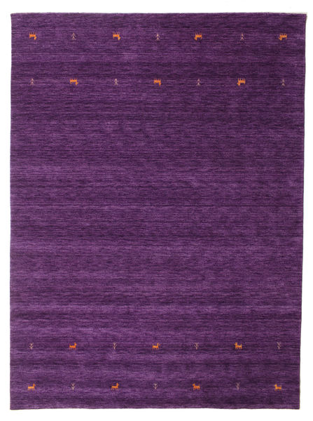 Gabbeh Loom Two Lines - Purper Vloerkleed 240X340 Modern Donkerpaars/Purper (Wol, India)