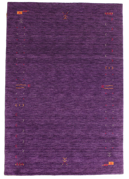 Gabbeh Loom Frame - Porpora Tappeto 160X230 Moderno Porpora Scuro/Porpora (Lana, India)