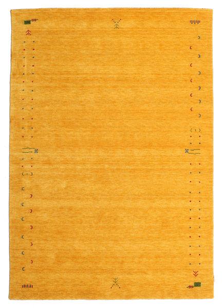 Gabbeh Loom Frame - Żółty Dywan 190X290 Nowoczesny Pomarańczowy (Wełna, Indie)