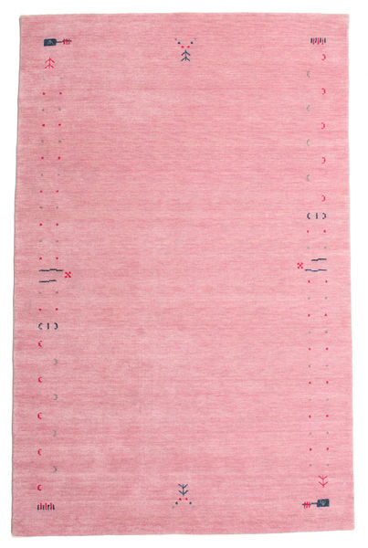Gabbeh Loom Frame - Pink Rug 190X290 Modern Light Pink/Pink (Wool, India)