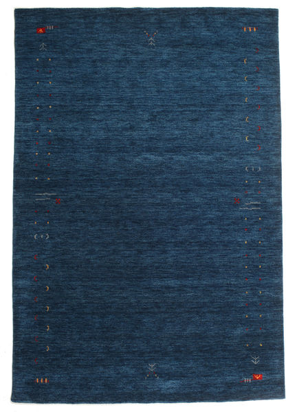 Gabbeh Loom Frame - Tummansininen-matto CVD15927